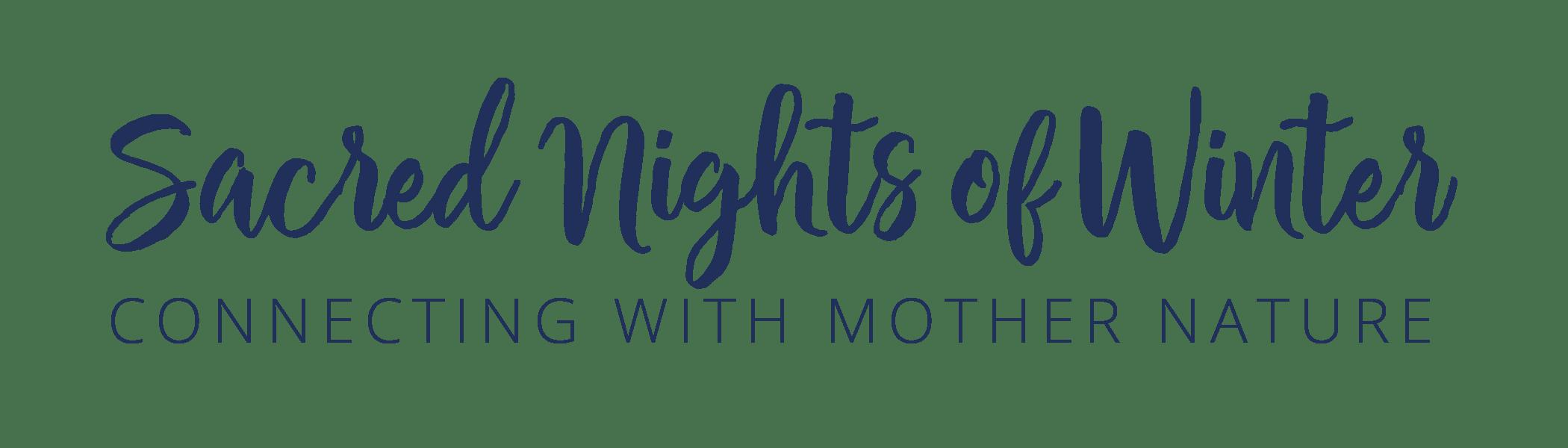Sacred Nights Journal Logo
